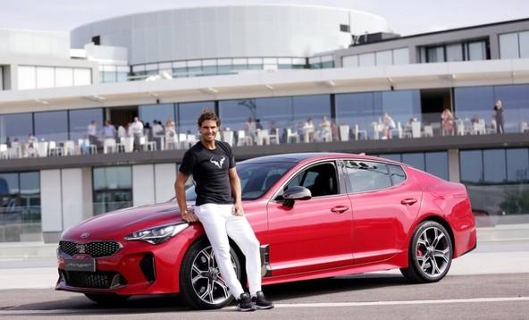 Druba Kia Motors in Rafael Nadal letos obeleujeta 15 let partnerstva