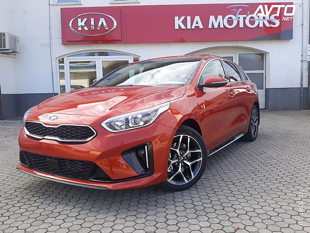 Kia Pro_CeeD proceed 1.4 T-GDI GT-Line ISG DCT V VSEH BARVAH