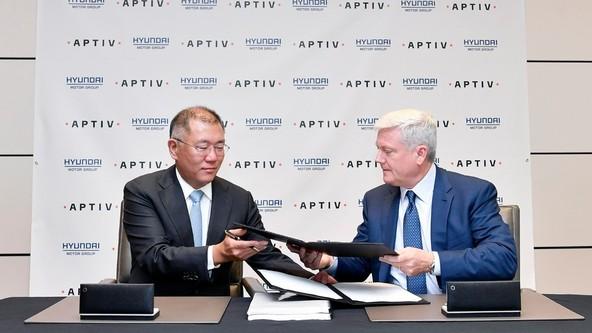 Kia in Aptiv e leta 2022 skupaj do avtonomne vonje