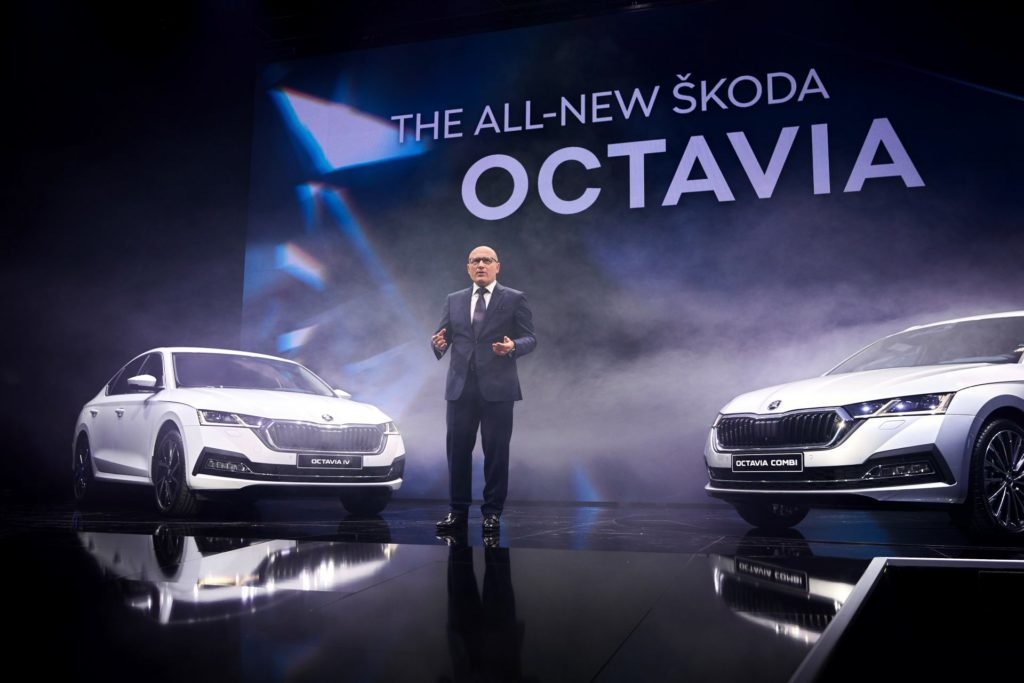 Nova  koda Octavia 2020