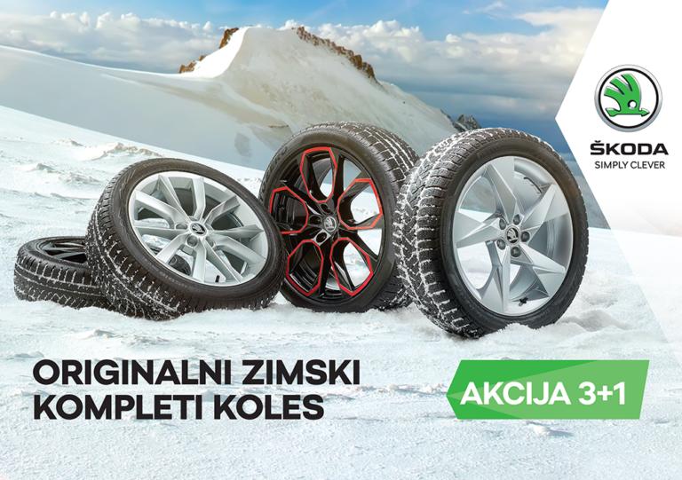 Akcijske cene pnevmatik  Zima se blia