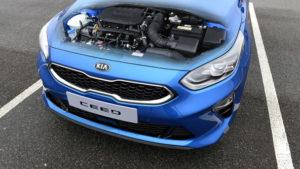 KIA Ceed z novimi bencinskimi motorji in blagimi hibridi