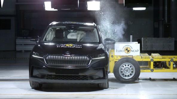 Pet zvezdic na preskusu Euro NCAP